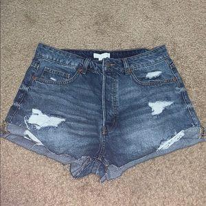 H&M mom-shorts